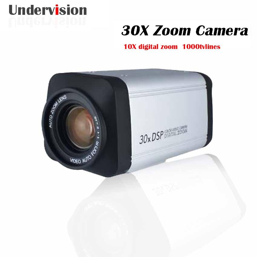 30X 3-90mm zoom box Camera ,with WDR ,Auto  IRIS DSP zoom optical 30X ,digital 10x Camera,1000tvlines proffessional CCTV camera удлинитель zoom ecm 3