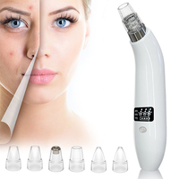 Electric Black Spots Remover Point Noir Vacuum Extractor Pore Cleaner LCD Black Dots Cleaning Cleanser Blackhead Remover
