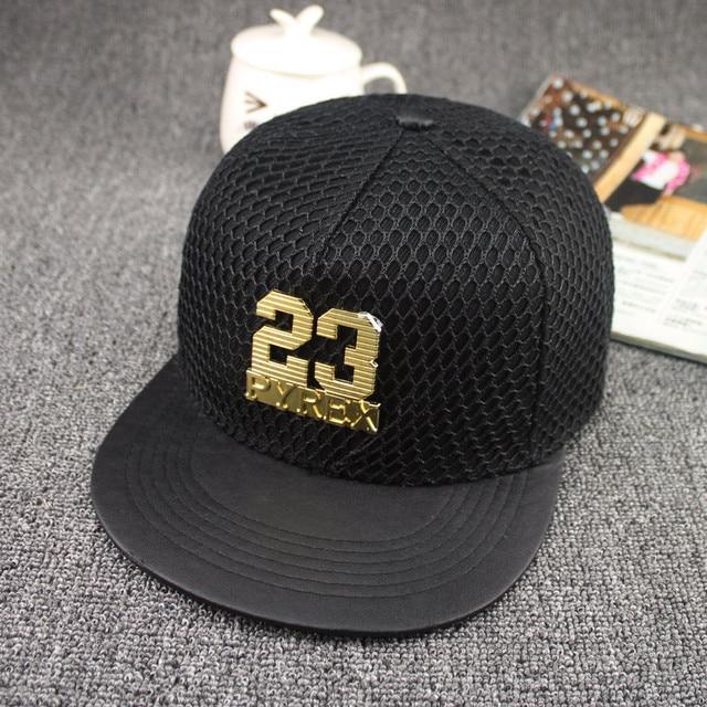 da54d518b18510 2017 New Fashion Voucher Gorras 23 Trukfit Snapback mesh Leather Hip Hop Hat  Brim Jordan hats