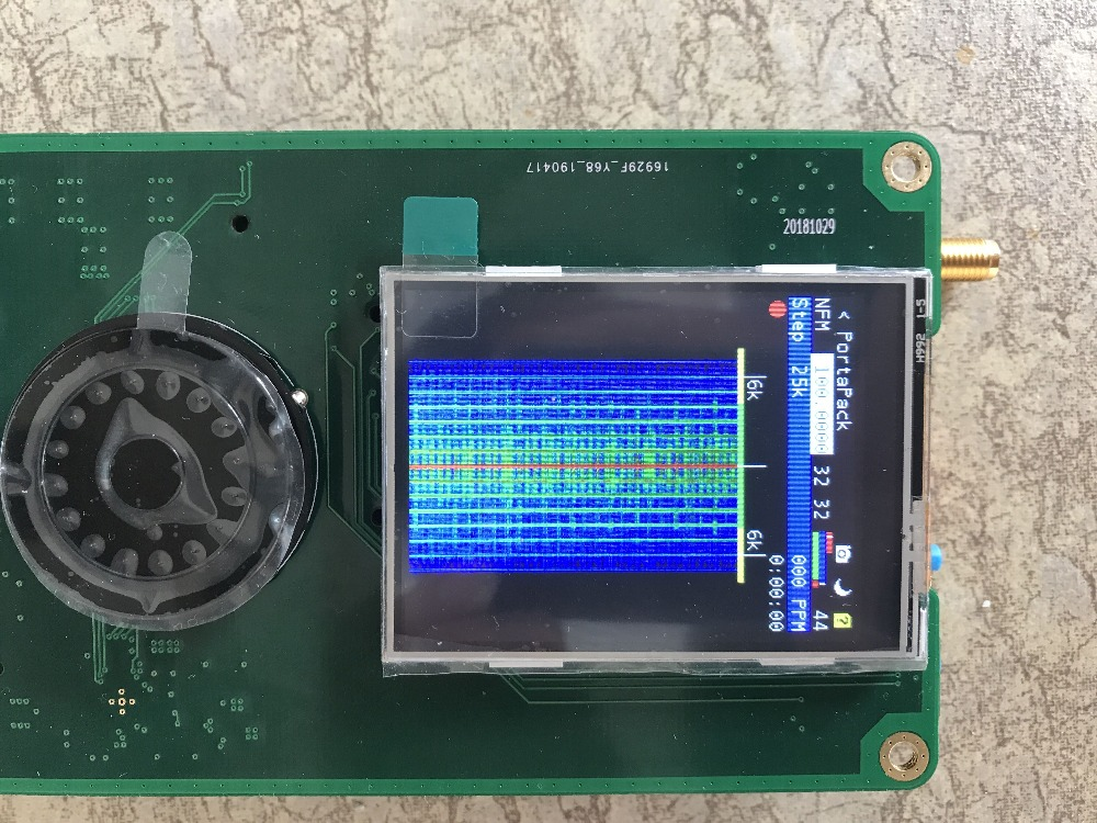Image 5 - 2019 Latest Version PORTAPACK + HACKRF ONE 1MHz to 6GHz SDR + Metal Case + 0.5ppm TXCO + Havoc Firmware Programmed-in Demo Board from Computer & Office