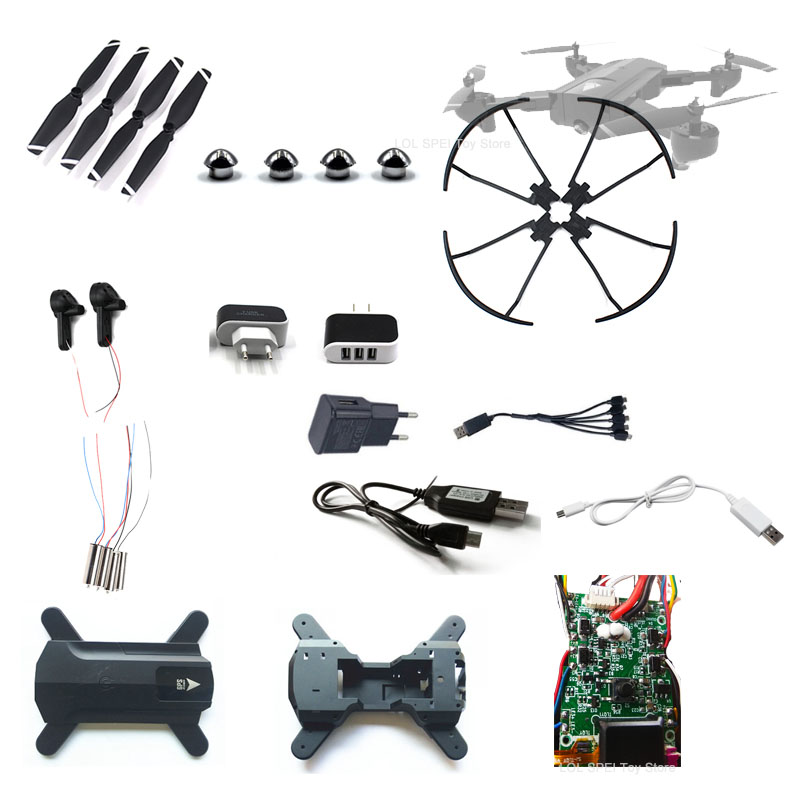 SG900 SG900-S X196 RC Drone Parts Body Fold Arm Gears Motor Engine Propeller Main Board Fixed Cover Protective Ring  Accessories
