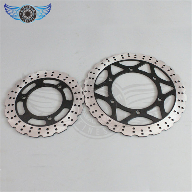 new brand motorcycle Accessories Front 290MM & Rear 220MM Brake Disc Rotor for KAWASAKI EX250 NINJA 250 2008 2009 2010 2011 2012 фоторамка коллаж moretto 138031