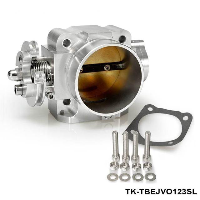 TANSKY - For Mitsubishi Lancer EVO 1 2 3 4G63 Intake Manifold Throttle Body 70mm 92-95 Sliver TK-TBEJVO123SL