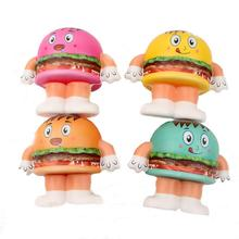 цены Squishy PU Simulation Hamburger Bread Decompression Toy with Random Color