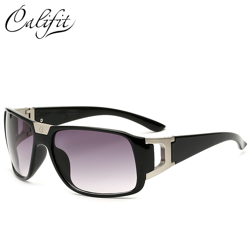 CALIFIT Moda Homens Originais Óculos De Sol de Marca Designer De Luxo Praça  Big Quadro Óculos de Sol Do Vintage Para O Sexo Masculino Oculos UV400  Shades 651659570a