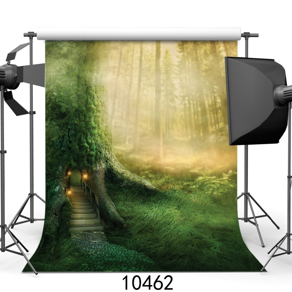 5 x 6.5 ft Photography Backdrop Natural scenery Fundo Doors 3D Baby Photography Backdrop Background 215cm 150cm fundo stars in the night sky3d baby photography backdrop background lk 2161