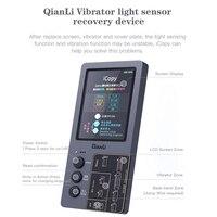 Qianli ICOPY Light Sensor Vibrator Recovery Programmer Tool Photosensitive Original Color Repair Instrument For Iphone 7 XSMax