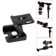 YIXIANG Câmera DSLR Acessórios Da Câmera Flexível Tripé Z Pan & Tilt Cabeça SUPORTE Solução Estúdio de Fotografia