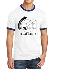 Science Shirt Pi Day 3.1416 Round It Up Math Graph 2017 Summer Men Ringer T Shirt 100% Cotton Slim Fit Male T-Shirts For Adult