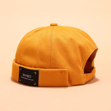 Men Women Adjustable Retro Crimping Brimless Skull Caps Autumn Winter Cap Beanies For Men Beanie Hat Slouchy Hip Hop*1(China)