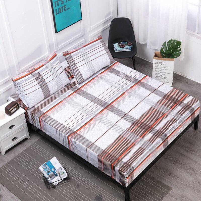 Funda de colchón MECEROCK Funda de colchón de cama impermeable almohadilla de Protector de sábana de estilo de cama de agua separada con Reina elástica