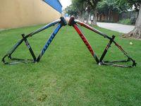 NEW LUTUwang ATX600 chất lượng 7075 hợp kim nhôm 26 17 16 inch trọng lượng nhẹ Côn tai nghe ống khung xe đạp leo núi
