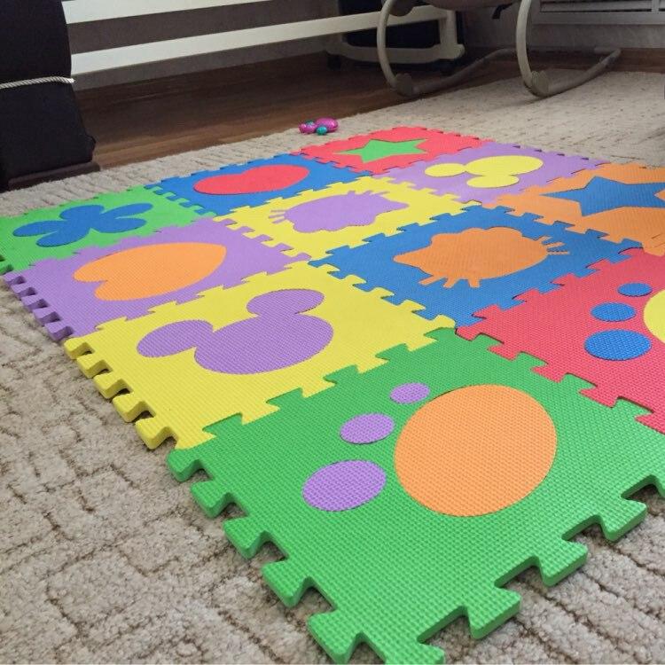Cartoon Baby Foam Puzzle Mats EVA Baby Floor Mats Jigsaw Puzzle Mat Kids Play Carpet Children Rugs PX09
