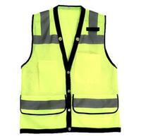 SFVestFree verzending Zichtbaarheid Security Veiligheid Vest Jas Reflecterende Strips Werkkleding Motorfiets Fietsen Uniformen Kleding T020