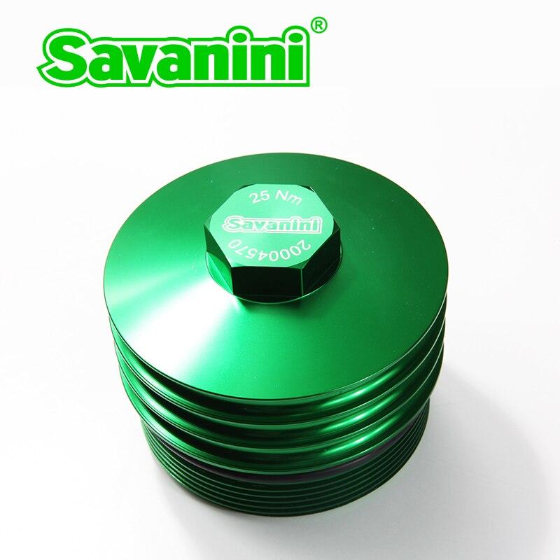 Coque de refroidissement pour filtre à huile moteur en aluminium pour BMW E46 moteur de haute qualité marque SAVANINI livraison gratuite