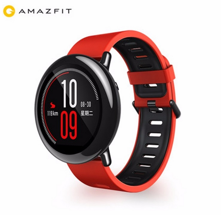 Prix pour [Anglais Version] vente Chaude Xiaomi HUAMI AMAZFIT Rythme Sport SmartWatch 1.2 GHz 512 MB + 4 GB Bluetooth 4.0 WiFi Dual Core GPS Coeur