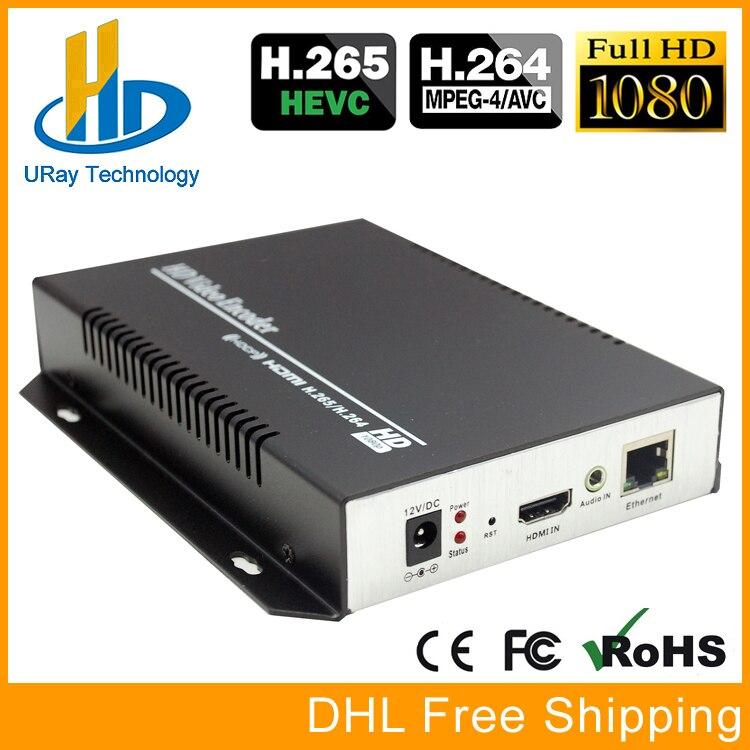 Meilleur Vente HEVC H.265/H 265/H265 HDMI Vidéo Codeur IPTV Matériel RTSP RTMP UDP H.264 Pour IPTV, vivre Diffusion En Continu