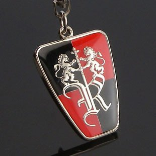 Free shipping! 3D badge/logo car keyring/keychain/keychains/key chain with gift box for 20 PCS  NO 30