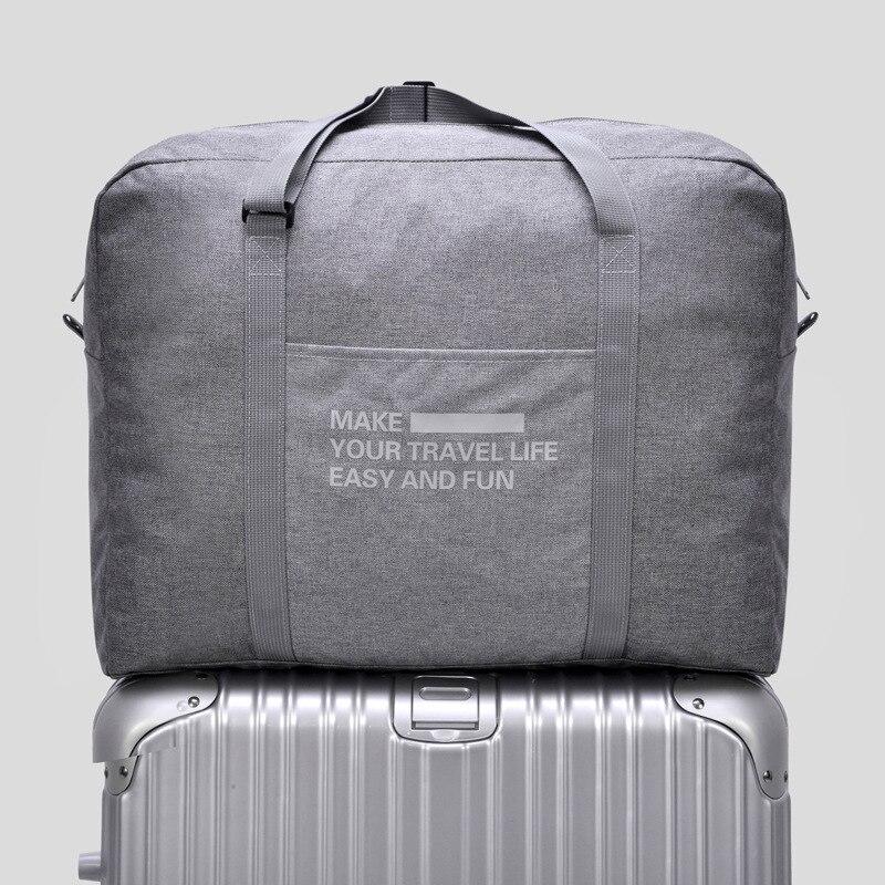 unisex bolsas zipper bolsas portáteis Tipo de Item : Malas de Viagem