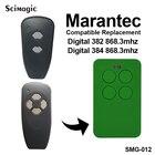 Marantec Digital D382, D384 868.3MHZ Universal Remote Control Duplicator 433.92MHz 868.3MHz garage door opener clone transmitter