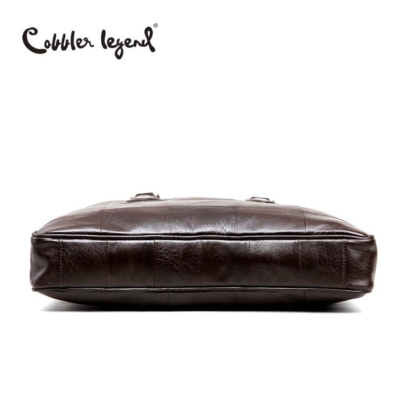couro real dos homens para Composição : Cowhide Leather
