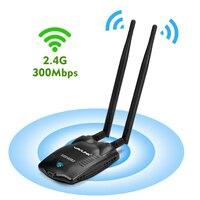 Wavlink Wireless High Power 300Mbps USB WiFi Adapter Network Card Adaptor Antenna Wifi Receiver 500mW 27dBm