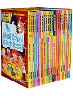HOT !Complete set of 21 sets of English original picture book children's novels reading funny baby enlightenment comic books