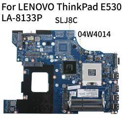 KoCoQin Laptop płyta główna dla lenovo ThinkPad Edge E530 HM77 płyty głównej płyta główna 04W4014 QILE2 LA-8133P SLJ8C DDR3