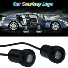 JURUS Car LED Door Welcome Logo Laser Projector Ghost Shadow Light For Alfa romeo 156 mito For Peugeot 307 206 Accessories Lamp jurus car led door welcome logo laser projector ghost shadow light for alfa romeo 156 mito for peugeot 307 206 accessories lamp
