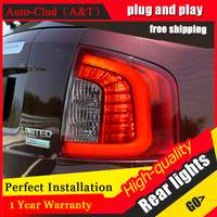 Auto Clud Car Styling For Ford Edge Taillights 2012 2014 Edge Limited LED Tail Lamp LED