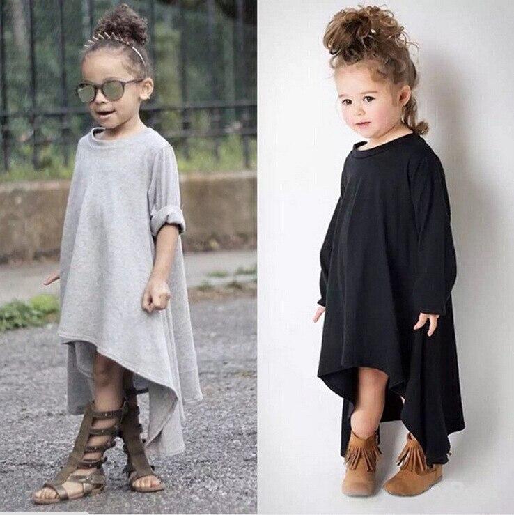 2017 nieuwe mode kinderen kinderen meisjes 360 graden roterende jurk - Kinderkleding