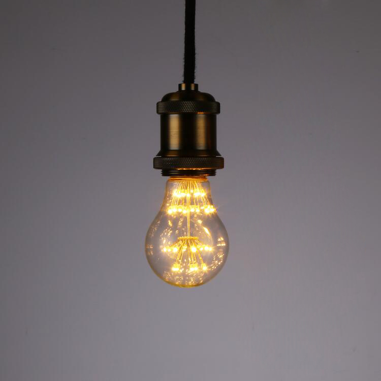 Designer Brand Antique Edison Light Lamp Bulbs A60 220V E27 Tungsten Incandescent Light Bulbs Retro Party Lighting Decor