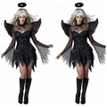 Halloween Scary Costumes Female Cosplay Costumes Demon Dress costume Chiristmas Night Angel Sexy Jumpsuit Movie Playing Clothes