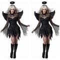 Halloween Scary Kostüme Weibliche Cosplay Kostüme Dämon Kleid kostüm Chiristmas Nacht Engel Sexy Overall Film Spielen Kleidung-in Gruselige Kostüme aus Neuheiten und Spezialanwendung bei