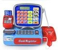 Supermercado Mini ir al tendero Minimarket hasta registradora cajero simulación muebles comprobación Pretend Play House Toy