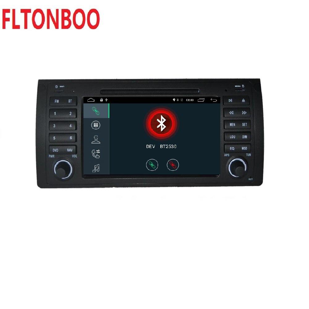 Android 8.1 pour bmw E39, X5, M5, E53 dvd de voiture, navigation gps, wifi, radio, bluetooth, cache de volant Canbus Livraison 8g carte, micro, écran tactile - 3