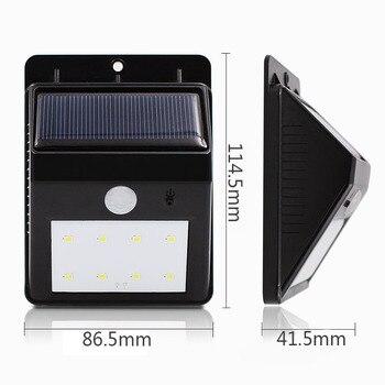 Solar Light Outdoors Fold Wall Energia Lamp Lampada Garden Atmosphere Yard Door Illumination Waterproof Led light Sensor Motion