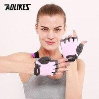 AOLIKES 1 пара перчаток для тренажерного зала, Перчатки для фитнеса, унисекс, для взрослых, для тяжелой атлетики, тренажер для мужчин и женщин