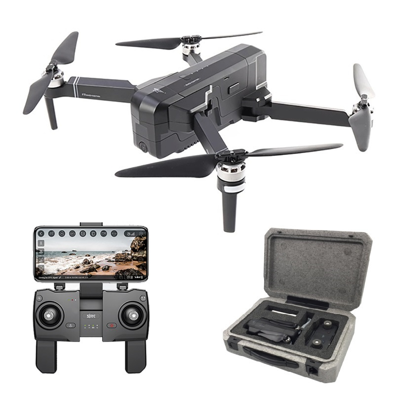 SJRC F11 GPS Drone Selfie RC avec caméra 1080 P HD WiFi FPV 25 minutes de temps de vol sans balai quadrirotor bras pliable Dron Vs CG033
