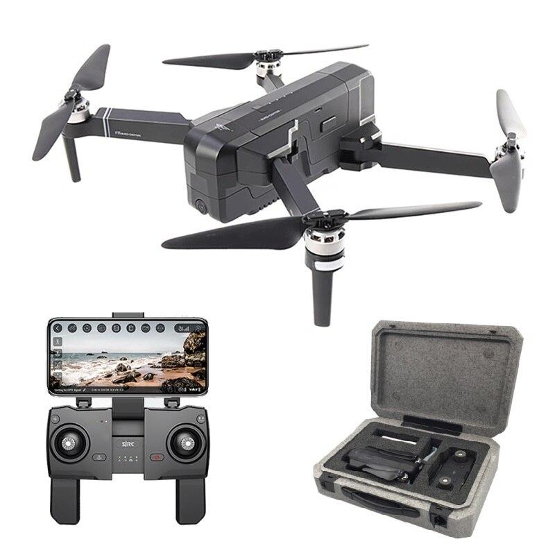 Selfie SJRC F11 GPS Zangão RC com Câmera HD 1080 P Wi-fi 25 minutos de Tempo de Vôo FPV Brushless Quadcopter Dobrável braço Dron Vs CG033