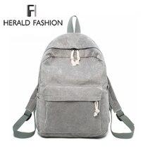Herald модный опрятный тканевый рюкзак женский вельветовый дизайн коллаж школьный рюкзак для девочек-подростков полосатый рюкзак женский