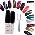 Sarness Cat Eye Nail Gel Polish Soak Off UV Gel Need Magnet Changing Color Nails Gel Professional UV Gel Polish Varnish