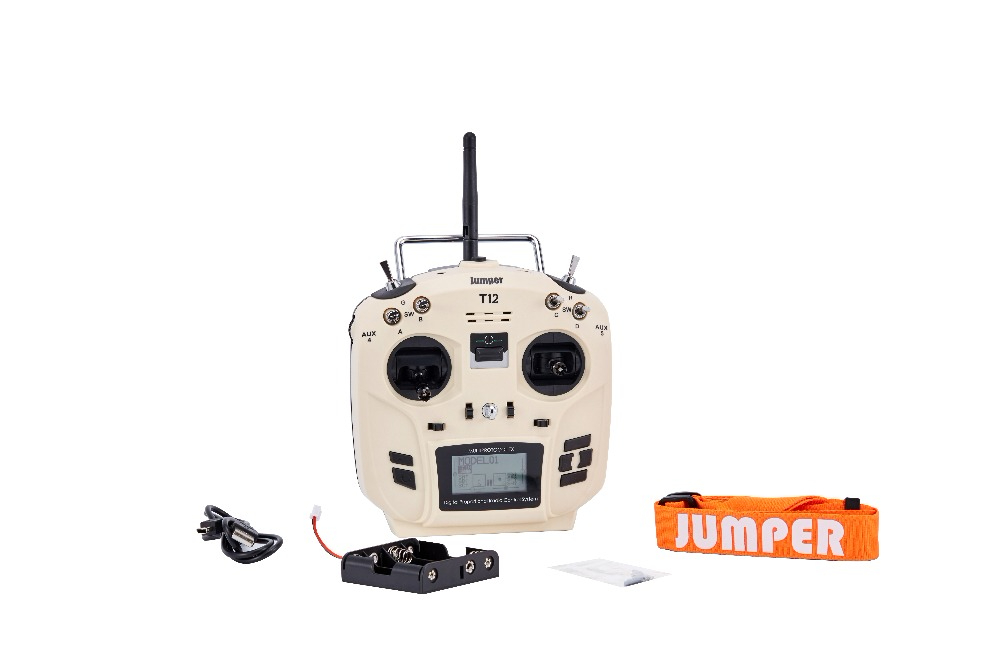 Jumper T12 OpenTX 12ch Transmitter Radio With JP4-in-1 Multi-protocol RF Module(China)