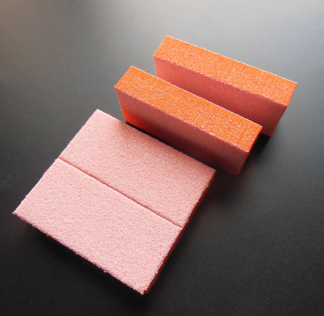 40 Pcs Lot Mini Nail Buffer Block Sponge Disposable File Pedicure Tool
