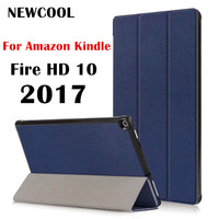 Fire HD10 2015 Tri Folded Magnetic Smart Case Cover For Amazon Kindle Fire HD 10 2015