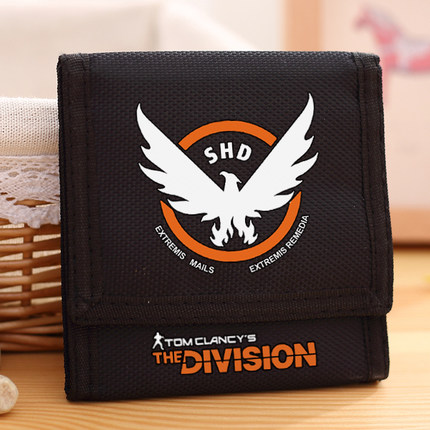2016 new wallet Agent Tom Clancy game birds flag folded wallet classical temperament necessary anime popular trend