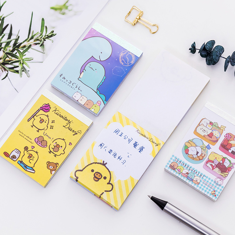 BLINGIRD 4 styl Kreativní Cute Chick Cover Student Office - Bloky a záznamní knihy - Fotografie 4