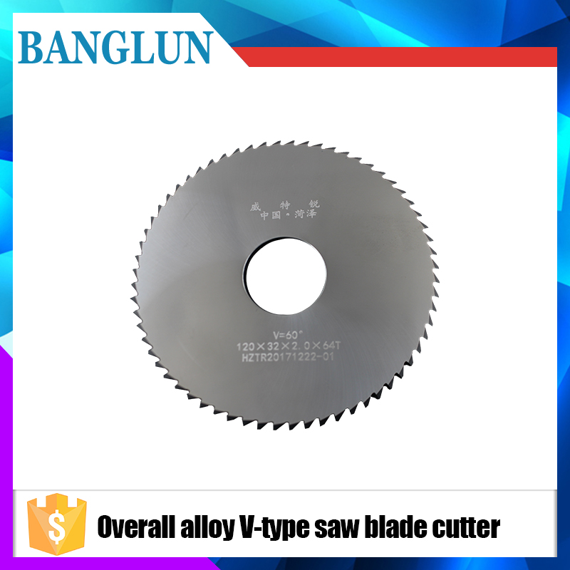 1pcs 90mm Saw Blade Circular Solid Carbide Round V Slitting Saw Cutter 90X22X6.5X36T-96degree Woodworking Cutting Tool 10 60 teeth wood t c t circular saw blade nwc106f global free shipping 250mm carbide cutting wheel same with freud or haupt