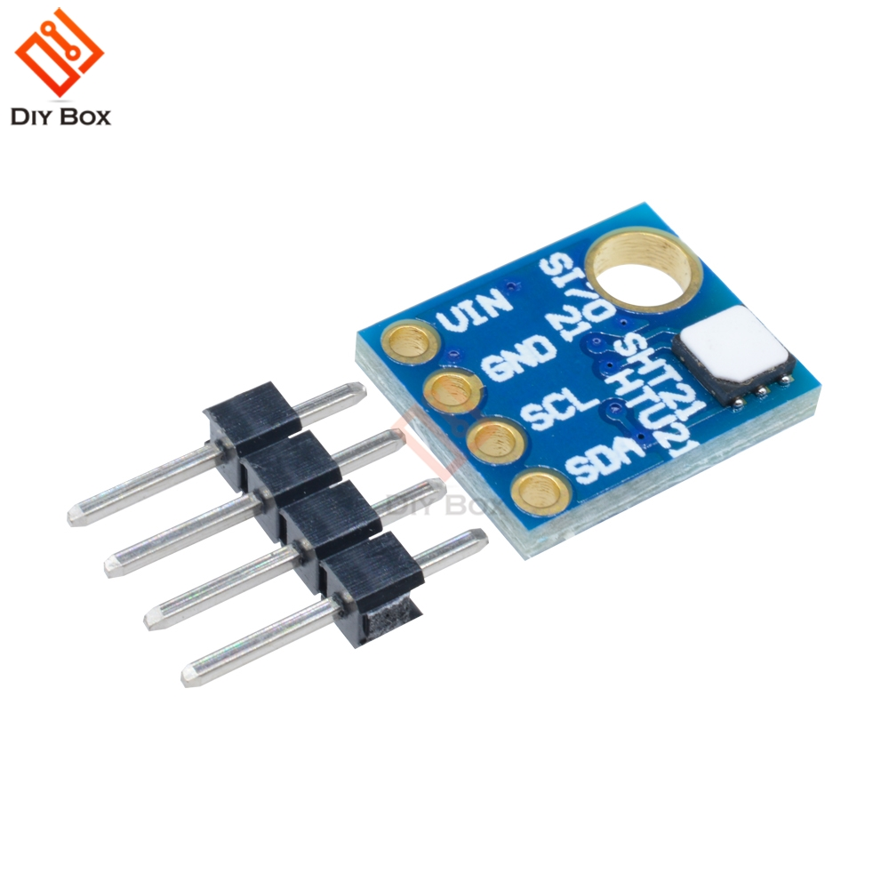 Si7021 GY-21 Module Industrial High Precision Humidity Sensor I2C IIC Interface Module For Arduino Low Power CMOS IC Module