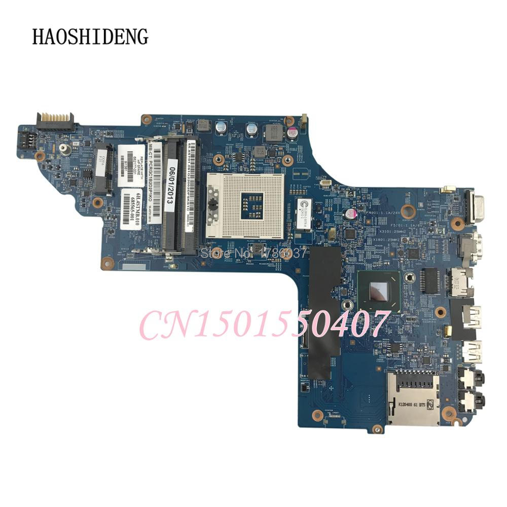 HAOSHIDENG 682177-501 682177-001 For HP pavilion DV6 DV6-7000 DV6-7300 series Laptop Motherboard,All functions fully Tested! free shipping 682183 001 for hp pavilion dv6 dv6t dv6 7000 series motherboard with a70m 7730 2g all functions 100